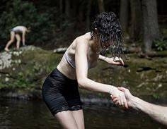 Better Times !: 09/01/2010 - 10/01/2010 #water #girl #wet #photo #help #nature