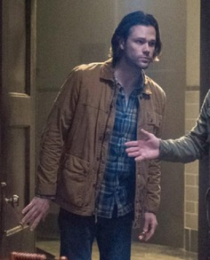 Supernatural Sam Winchester Cotton Jacket (3)