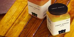 Honey Hunter    The Dieline