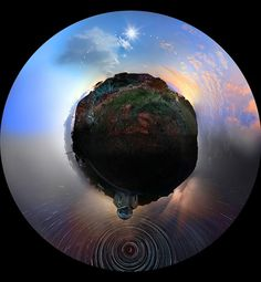24 Hours of Photographs Merged into a Single Panoramic Image | Colossal #photography
