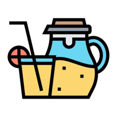 See more icon inspiration related to drink, liquid, food and restaurant, lemonade, fresh, beverage, citrus, juice, lemons and delicious on Flaticon.