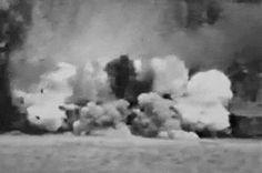 Destruction #train #explode #gif