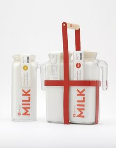 Student Spotlight: Kirkland Brand - TheDieline.com - Package Design Blog #packaging #milk #product