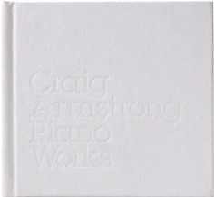 Craig Armstrong - Piano Works #packaging #hingston #tom #studio #music