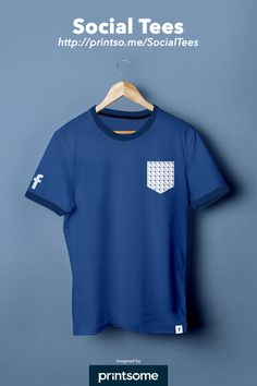 #Facebook #Social #Tee #tshirt #clothing #design