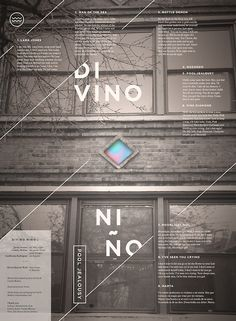 Our full length is out! Stream and download for free here http://divinonino.bandcamp.com/ #typography #poster #architecture #house #gradient