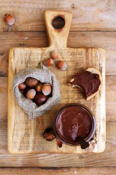 Krem kasztanowy z orzechami laskowymi, czekoladÄ… i waniliÄ… #nuts #cream #food #chocolate #sweets