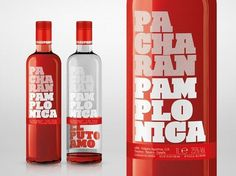 Pacharán Pamplonica | Lovely Package #packaging #design