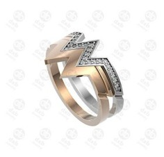 Unique wedding ring for gift anniversary, bride unique rose gold wedding ring, mother of the bride g - wonder woman