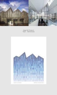 Kap Skill Museum - Pattern in Architecture Poster serie - Giuseppe Gallo