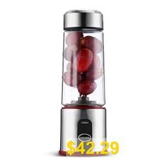 Gocomma #ASD #- #118 #Portable #Electric #Juicer #Mini #Blender #- #RED