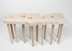 christopher kurtz: redemption table #design #wood #furniture #kurtz #art #table #christopher #work