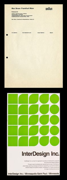 peter seitz #letterhead #type #layout #braun