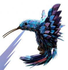 Colossal | An art and design blog. #birds #pieces #broken