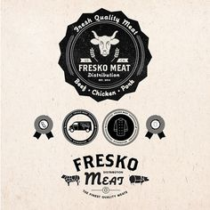 Fresko Meat Branding on Behance