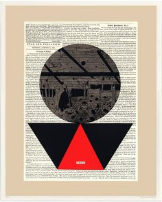 http://www.evanhecox.com/ #urban #newsprint #print #graphic #art