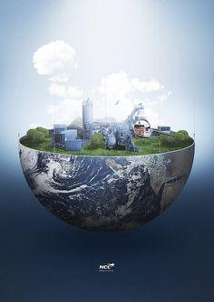 f | Tutorials #illustration #world #globe #depthcore