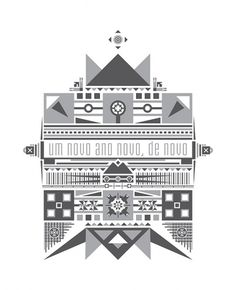 Vector Drawing III on the Behance Network #new #vector #year #gray