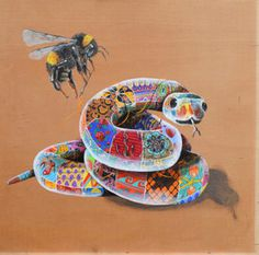 Sixth Extinction – New Works by Louis Masai – C.A.V.E. Gallery