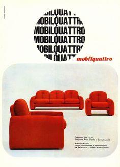 All sizes | Mobilquattro Ad 1969 | Flickr - Photo Sharing! #advert #1969 #mobilquattro