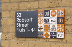 Creative Review Local artists help make signage for Stockwell Park #design #graphic #signs