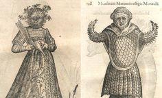 Monsters & Madness... The Drawings of Ulisse Aldrovandi - #naturalism #aldrovandi #illustration #latin #ulisse #drawing