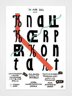 Knall Körper Kontakt #katze #poster #paul