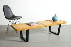 George Nelson Bench #george #nelson #bench #furniture #birch