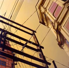Realistic Urban Paintings by Graeme Berglun_1 #urban #realistic #city #painting #art