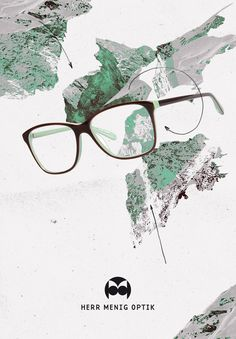 Ad illustration for Herr Menig Optik, an optician in Nürnberg Germany - www.philippzm.com