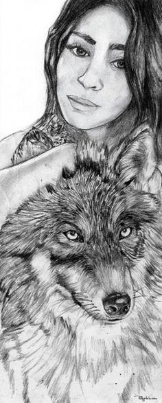 Farah by Phillyatchi   Society6 #phillyatchi #farah #illustration #art #huski #drawing