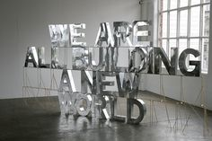 01-2008.jpg (JPEG Image, 795 × 531 pixels) #installation #design #studio #type #typography