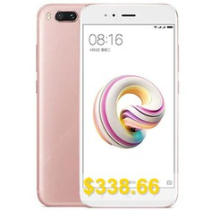 Xiaomi #Mi #A1 #4G #Phablet #4GB #RAM #Global #Version #- #ROSE #GOLD