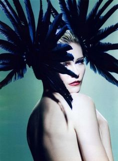 Merde! - thecysight: Kirsten Dunst by Mario Testino for V... #fashion #photography