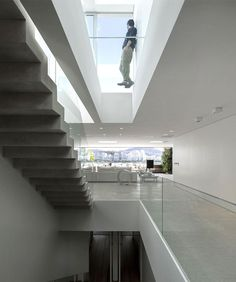 Ultra Luxury Penthouse in Rio de Janeiro three floor interior penthouse #stairs #architecture