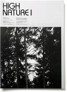 High Nature - Experimental Jetset #white #experimental #black #nature #and #jetset #booklet #brochure