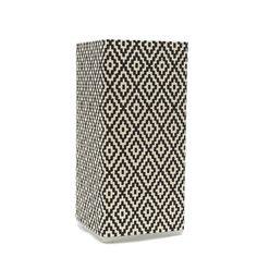 Diamond Glass Lamp, 21 cm x 10 cm x 10 cm