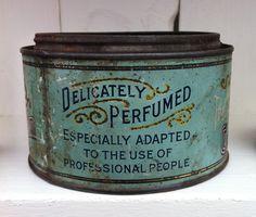 Vintage #design #tin #type #detail #package