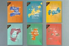 Branding and Graphic Design - Catalan Wines Project - WE AND THE COLOR #branding