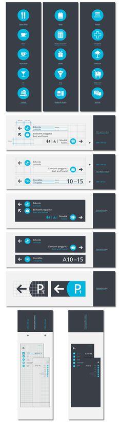 BUD Terminal2 Graphics Concept / 2010 #signage #logo
