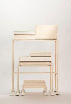 I N V A D E R #interior #storage #design #flexible