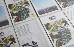 Hoults Wine Merchants Newspaper Design