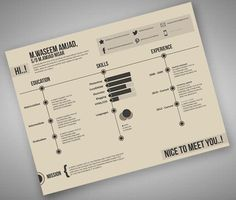 retro look resume #retro #web #resume