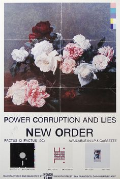 New Order Promo poster 1983Â #poster