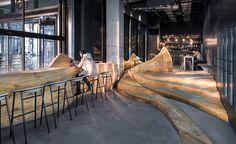 Daipu Architects Shows Amazing Way to use Wood in Renovation - InteriorZine #restaurant #decor #interior