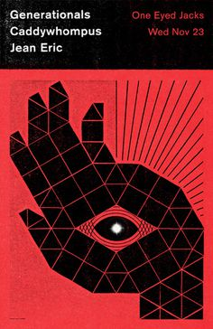 GigPosters.com - Generationals - Caddywhompus - Jean Eric #young #gig #campbell #poster #monster #scott
