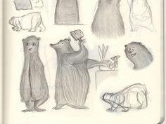 More Bear Sketches #sketchpad #illustration #bears #bear #pencil