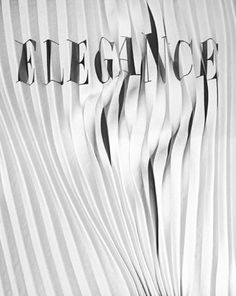 FFFFOUND! #fold #elegance #white #ripple #black #and #fan #paper