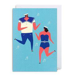 sailor, music, dance, illustration, color