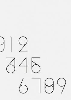 ↪ #design #minimalism #shape #number #type